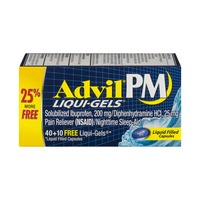 Advil PM Liqui-Gels - 40 CT