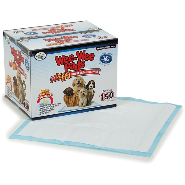 Four Paws Wee Wee Pads Puppy Housbreaking Pads