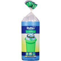 Ruffies Extra Large Trash Bags Blue