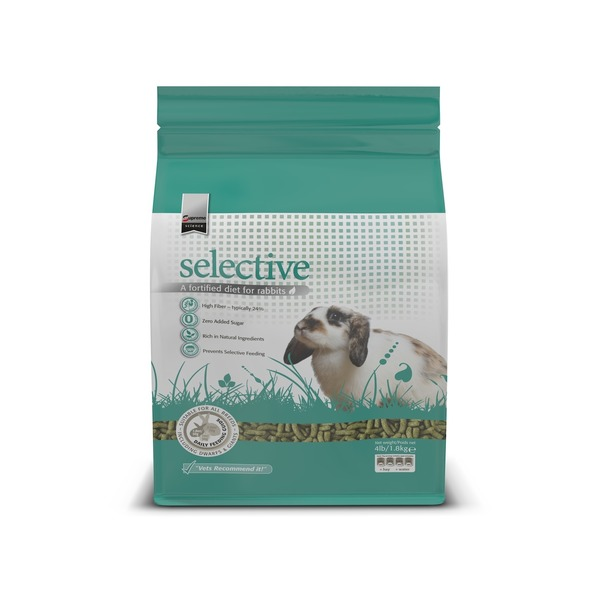 Supreme Pet Food Supreme Selective Fortified Rabbit Food 4 Lbs.