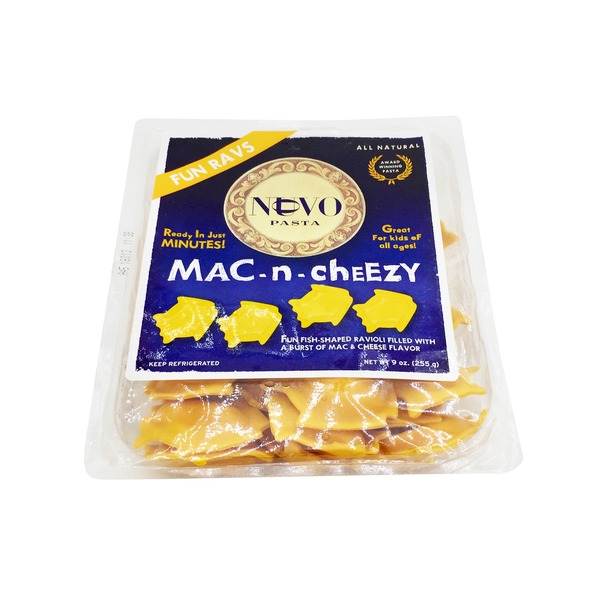 Nuovo Pasta Kids Mac-N-Cheezy Fish Shaped Ravioli