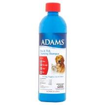 Adams Flea & Tick Cleansing Pet Shampoo, 12 fl oz