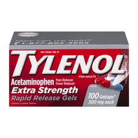 Tylenol Extra Strength Rapid Release Gels - 100 CT