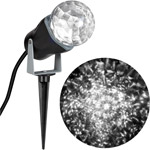 Gemmy Lightshow Christmas Lights Projection Kaleidoscope Lights White