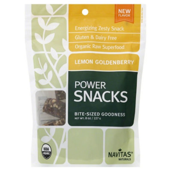 Navitas Naturals Lemon Goldenberry Power Snacks