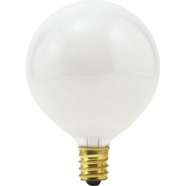 Sylvania Light Bulbs Indoor Small Base G16.5 25W