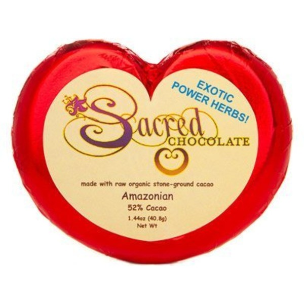 Sacred Foods Chocolate Heart Amazonian Bar
