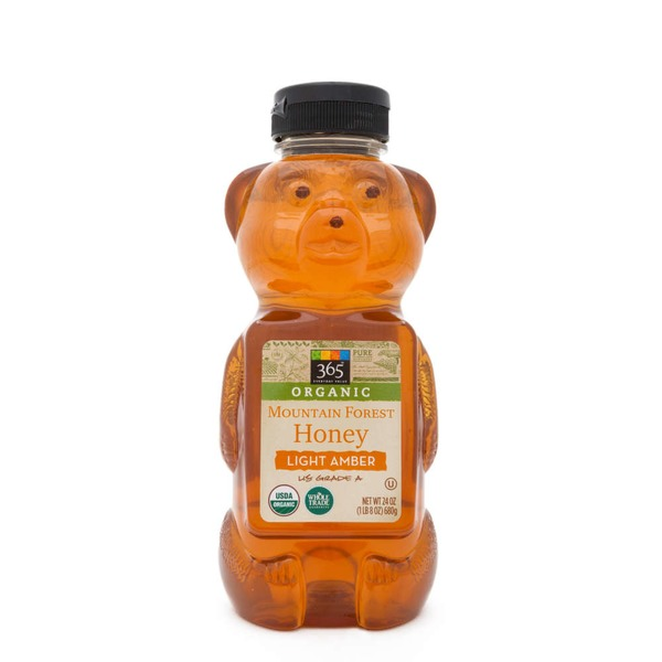 365 Organic Mountain Forest Honey Light Amber