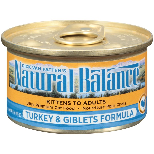 Natural Balance Turkey & Giblets Formula Cat Food