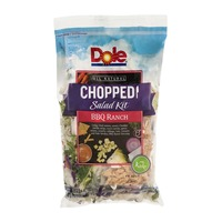 Dole All Natural Chopped Salad Kit BBQ Ranch