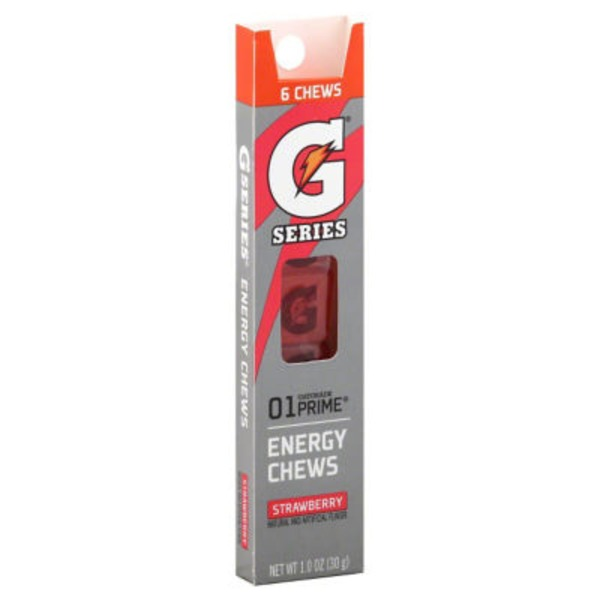 Gatorade G Series Prime Strawberry Energy Chews