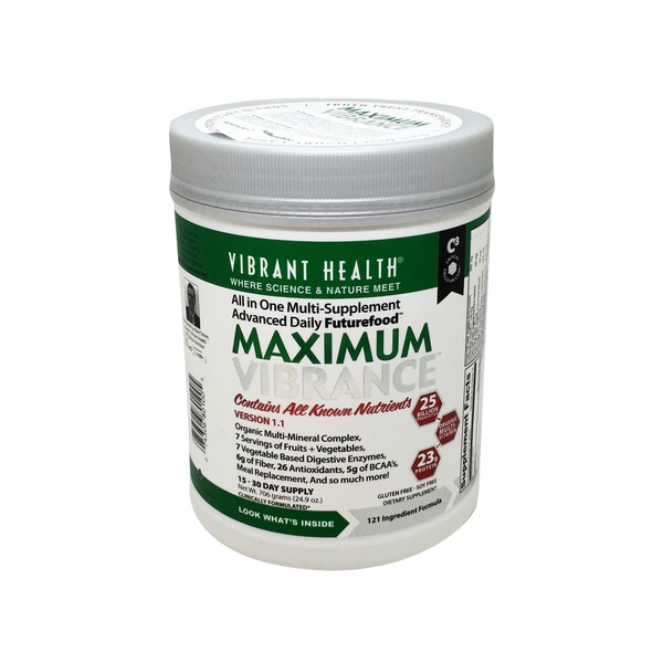 Vibrant Health Maximum Vibrance Nutritional Supplement