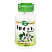 Nature's Way Pau d' Arco Inner Bark 545mg Capsules - 100 CT