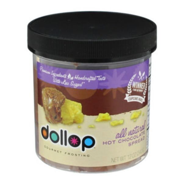 Dollop Hot Chocolate Gourmet Frosting Spread