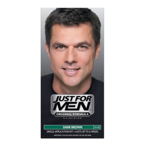 Just For Men Touch of Gray Multiple Application Kit, Mustache & Beard, Dark Brown & Black B-45/55