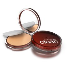 COVERGIRL Clean Pressed Powder Foundation Medium Light 135, .39 oz