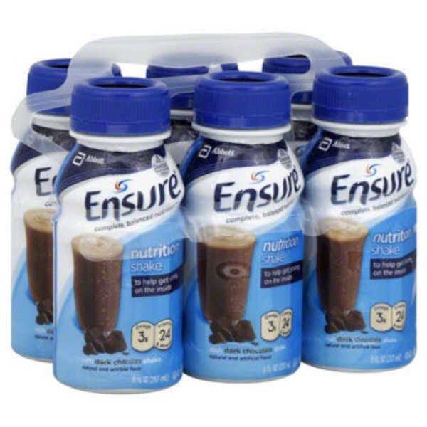 Ensure Plus Original Dark Chocolate Nutrition Shake