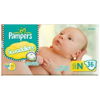 Pampers Swaddlers Jumbo Pack Newborn Diapers