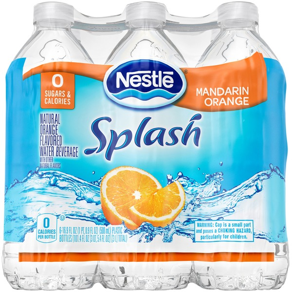 Nestlé Pure Life Splash Mandarin Orange Flavored Water
