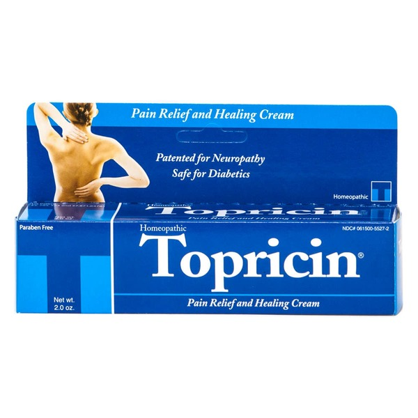 Topricin Pain Relief and Therapeutic Healing Cream