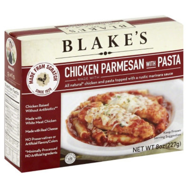 Blake's Chicken Parmesan with Pasta