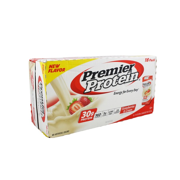 Premier Nutrition Strawberries and Cream Protein Shake Case