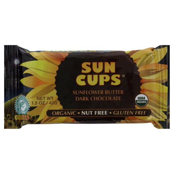 Sun Cups Dark Chocolate, Sunflower Butter