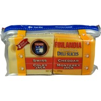 Finlandia Four Cheese Deli Slices