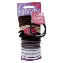 Goody Ouchless No-Metal Elastics - 30 CT