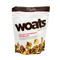 Woat's Jammin' Strawberry Shortcake Oat Snacks