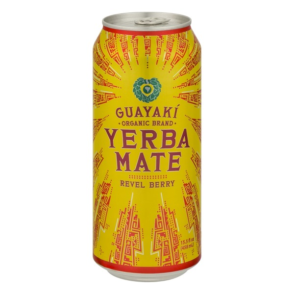 Guayaki Yerba Mate Tea Revel Berry