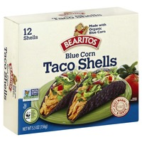 Bearitos Blue Corn Taco Shells
