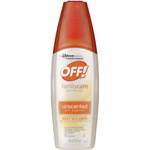 OFF! FamilyCare Unscented with Aloe Vera Insect Repellent IV