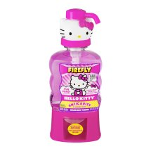 Firefly Hello Kitty Anticavity Fluoride Rinse Melon Kiss Flavor, 16.0 FL OZ