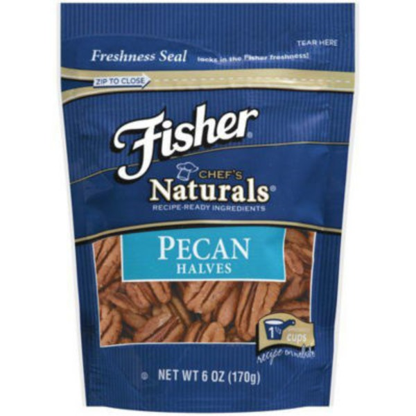 Fisher Halves Pecans