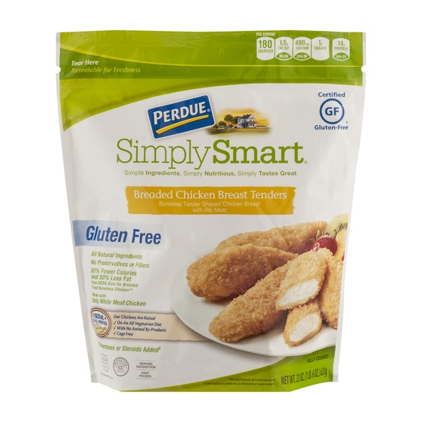 Perdue Simply Smart Gluten Free Breaded Chicken Breast Tenders