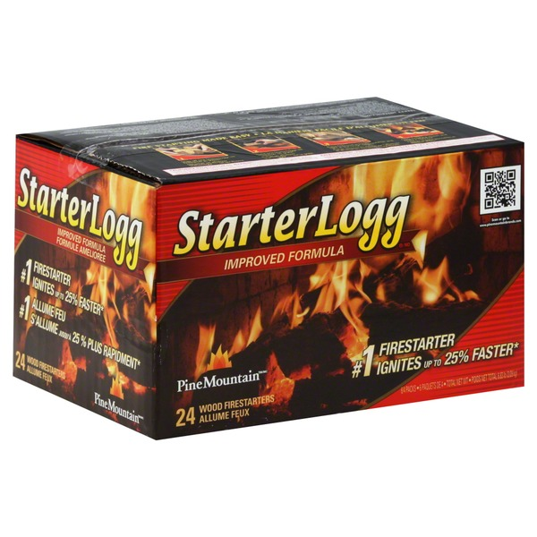 Pine Mountain Firestarters, Wood, Starter Logg