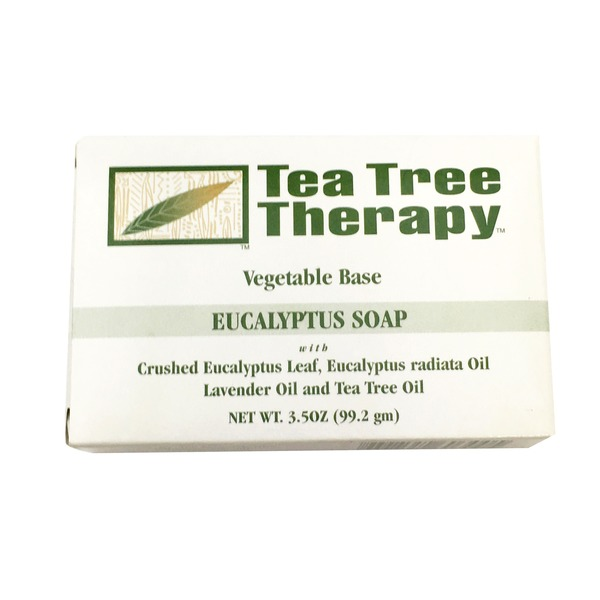 Tea Tree Therapy Vegetable Base Eucalyptus Soap