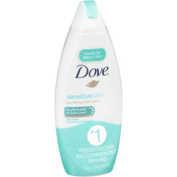 Dove Sensitive Skin Body Wash Nutrium Moisture
