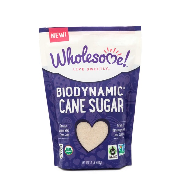 Wholesome Organic Biodynamic Cane Sugar