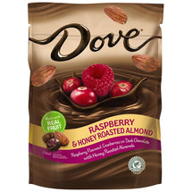 Dove Raspberry Almond Honey Dark Chocolates