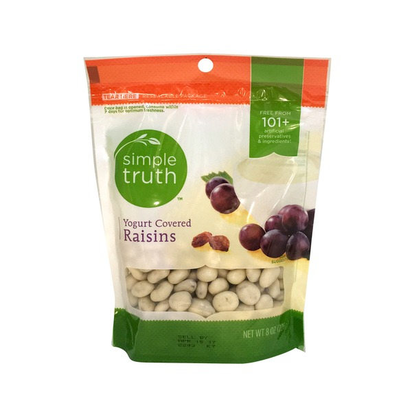 Simple Truth Yogurt Covered Raisins