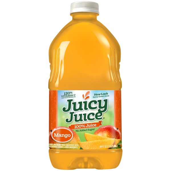 Juicy Juice No Sugar Added Mango 100% Juice