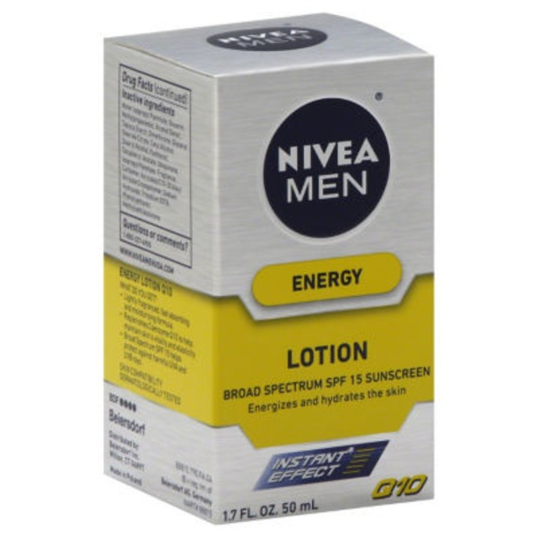Nivea Men Energy Broad Spectrum SPF 15 Suncreen Revitalizing Lotion
