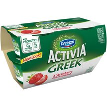 Activia Strawberry Patch Greek Nonfat Yogurt