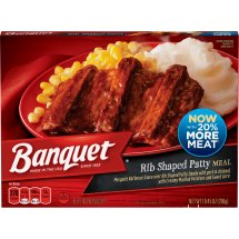 Banquet BBQ Meal and Mashed Potatoes, 10.45 Ounce