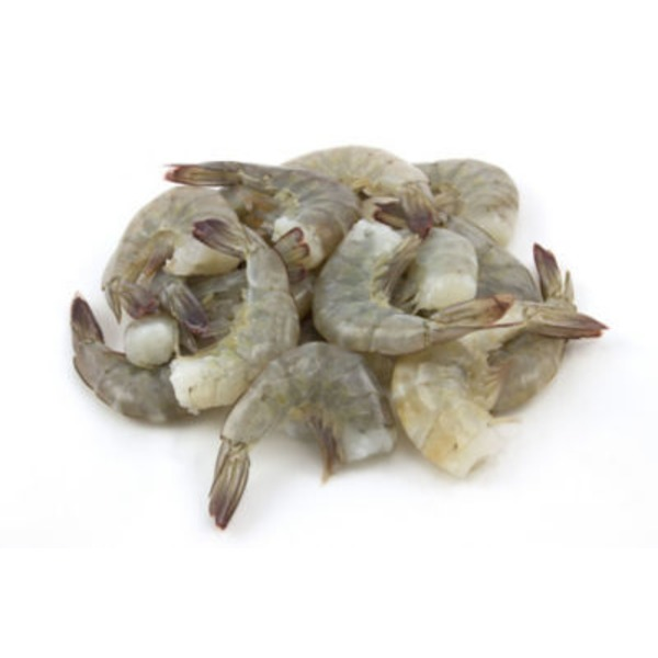 Fish Market Texas Headless Raw White Shrimp 26 30 Ct