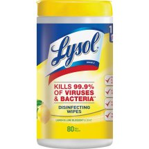 Lysol Disinfecting Wipes, 80 Wipes