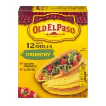 Old El Paso™ Crunchy Shells 12 - 4.6 oz Box, 4.6 OZ