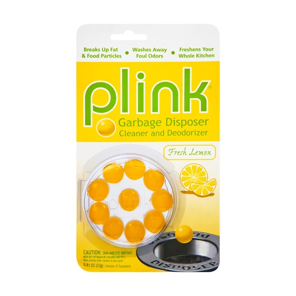 Plink Fresh Lemon Garbage Disposer Cleaner and Deodorizer - 10 PK